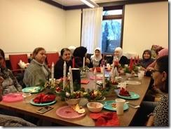 Juleafslutning i Kvindegruppen
